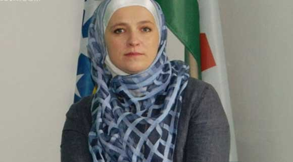 Possibly the first European Hijab Wearing Mayor