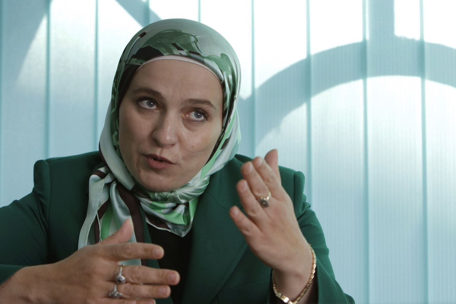 Muslim Woman Hijabi Mayor