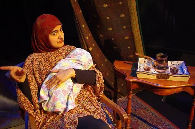 "Rohina Malik Stars in the play written and directed by herself called ""Unveiled"""